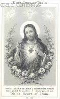 IMAGE PIEUSE JESUS-CHRIST PAR LAMARCHE SANTINI CANIVET RELIGION SANTINO - Images Religieuses