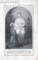 IMAGE PIEUSE A VOLET PAR CH. LETAILLE LA MODESTIE RELIGION CANIVET SANTINI SANTINO - Images Religieuses