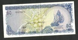 [NC] MALDIVES - MALDIVES MONETARY AUTHORITY - 50 RUFIYAA (1987) - Maldive