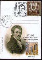 Sir Humphrey Davy 230 Years. - Chemistry