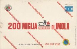 ** 200 MIGLIA SANTERNO IMOLA.** - Motorsport