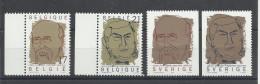 EMISSION COMMUNE BELGIQUE/SUEDE - 1999 -  PRIX NOBEL DE LA PAIX HENRI LA FONTAINE ET AUGUSTE BEERNAERT - Belgique