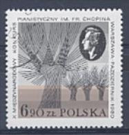 POLOGNE 2531 USE Frédéric Chopin - Music