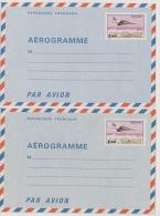 """Aerogramme  1004-AER  ET 1005-AER Neusf** Entier Postal""""Concorde Survolant Paris ´ - Aerogrammen"""