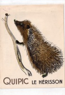 LE HERISSON QUIPIC - Animaux & Faune