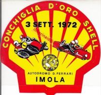 "** AUTODROMO ""DINO FERRARI"".-IMOLA.-ADESIVO.** - Car Racing - F1"