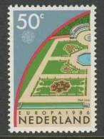 Nederland Netherlands Pays Bas 1986 Mi 1292 ** Garden Of Palace Het Loo / Jardin / Garten / Tuin Het Loo - Europa Cept - Châteaux