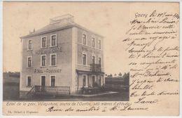 21183g HOTEL De La GARE - P. Noel-Rensonnet - Gouvy - 1905 - Gouvy