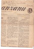 """9-Giornale Siciliano """"Lu Marranzanu"""" Del 15 Luglio 1933, Affrancato C.10 Imperiale Da Roma X Catania. - Informatique"""