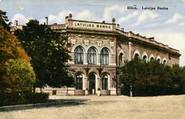 AK Riga Ca. 1920 (?) Latvijas Banka - Latvia