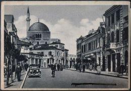 ALBANIA - DURAZZO - STREET + OLD CAR - Ital. Edit Libreria Salim Kokalari - Viag. 1947 - Albanien
