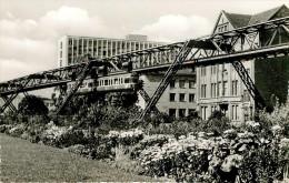 Allemagne - Rhénanie Du Nord Westphalie - Chemins De Fer Trains - Monorail - Wuppertal Barmen - Schwebebahn Am Neuer Weg - Wuppertal