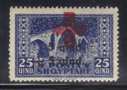 SS2726 - ALBANIA , Croce Rossa Yvert  N.  142  ***  MNH - Albania