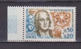 FRANCE / 1963 / Y&T N° 1374 ** : Jacques Daviel BdF - Gomme D'origine Intacte - France