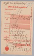 Heimat Polen Namslau 1883-04-03 Auf Postschein - ....-1919 Provisional Government