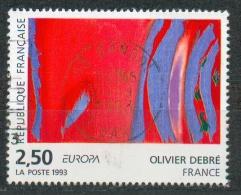 France - Oeuvre D'Olivier Debré YT 2797 Obl. - Frankreich