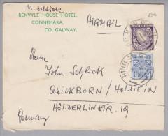 Irland 1964-10-07 Rinn AN Airmailbrief Nach  Quickborn - 1949-... République D'Irlande