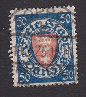 Danzig, Scott #187, Used, Coat Of Arms, Issued 1924 - Danzig