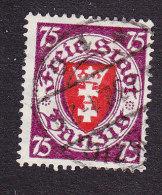Danzig, Scott #191, Used, Coat Of Arms, Issued 1924 - Danzig