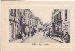 23318 SEES - Rue Grande - Edition Duval  La Poste Postes - Sees
