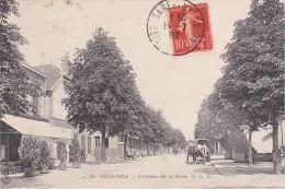 23323 SEZANNE - AVENUE DE LA GARE -CLC 3 - Restaurant Attelage - - Sezanne