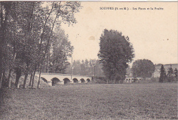 23327 SOUPPES - Les Ponts Et La Prairie  -ed Lhoste Souppes - - Souppes Sur Loing