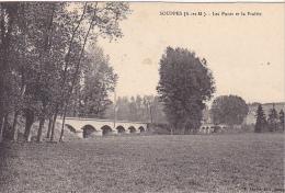 23327 SOUPPES - Les Ponts Et La Prairie  -ed Lhoste Souppes -