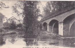 23328 SOUPPES - Un Pont Sur Le Loing - Ed ?  Arbres En Feuillage