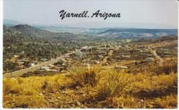 Yarnell Arizona, Peeples Valley Near Prescott, Mining Ranching Area, C1970s Vintage Postcard - Other