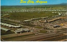 Sun City Arizona, Aerial View Of Trailer Park Retirement Living C1960s Vintage Postcard - Other
