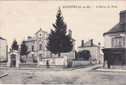 23331 SOUPPES Loing -Hotel De Ville - Ed ?  -Rouennerie Vetement