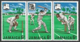 Jamaica. 1968 MCC's West Indian Tour. MH Complete Set Setenant. - Jamaica (1962-...)