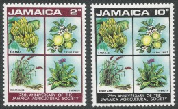 Jamaica. 1970 75th Anniv Of Jamiacan Agricultural Society. MNH Complete Set - Jamaica (1962-...)