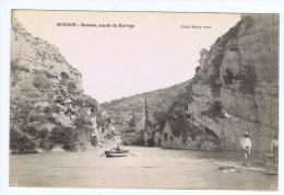 Quinson (04) - Remous , Amont Du Barrage , Animée , Barque , Travaux - Sonstige Gemeinden