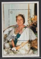Niue MNH Scott #292 Souvenir Sheet $3 Queen Mother's 80th Birthday - Niue