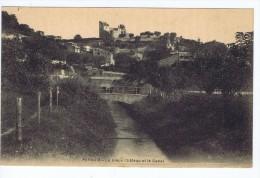 Peyruis (04), Le Vieux Chateau Et Le Canal - Sonstige Gemeinden