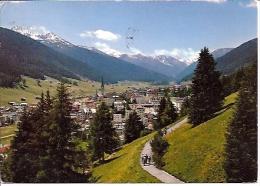 DAVOS  Hohenpromenade Mit   Mit Blick Gegen Tinzenhorn - GR Grisons