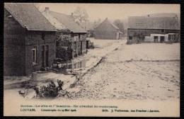 BERTHEM - BERTEM 1906 (catastrophe De 1906 Louvain) - UITWERKSEL DER OVERSTROOMING - Bertem