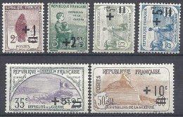 FRANCE - Orphelins De La Guerre - Les 6 Premières Valeurs Neuves TTB - France