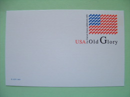 USA 1993 - Stationery Stamped Postal Card - Unused - Flag - Old Glory - Ganzsachen