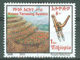 °°° ETIOPIA -Y&T N°1602 - 2003 °°° - Ethiopia