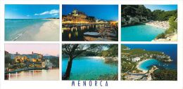 Menorca Spain Postcard Used Posted To UK 2006 Atm - Menorca