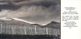First Snowfall Isle Of Skye Victor J Attfield FRPS Scotland Postcard - Inverness-shire