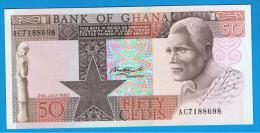 GHANA -  50 Cedis 1980 SC  P-22 - Ghana