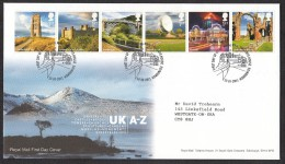Royal Mail First Day Cover - UK - A-Z,  October 2011 - FDC