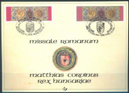 BELGIUM -  CARTE SOUVENIR- 12.3.1993 - HISTORY - COB 2492HK -  Lot 9681 - Cartes Souvenir