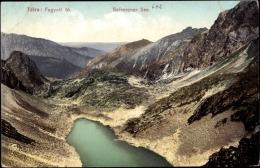 Cp Hohe Tatra Slowakei, Blick Auf Den Gefrorenen See, Berge, Fagyott To - Slovacchia