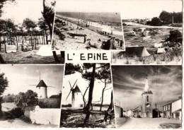85---ILE DE NOIRMOUTIER--souvenir De L´epine--multivues----voir 2 Scans - Ile De Noirmoutier
