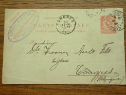 CP / BK - Entre Roubaix ( Paul Loth ) Et Tongres / Anno 1903 ( Zie/voir Foto Voor Details ) !! - Cartes Postales