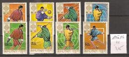 Bhoutan 187 à 194 ** Côte  3.75 € - Bhutan